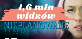 1 600 000 widzów #Nieplanowane w TVP1!